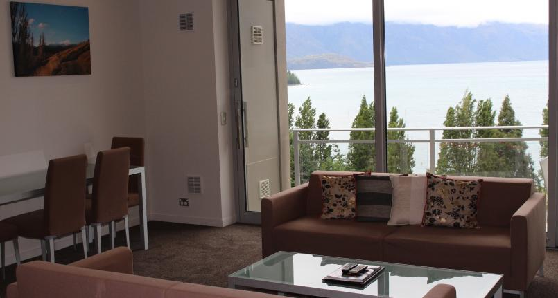 Dining Lounge View 3 Highview Apartments - Queenstown Luxury Accommodation